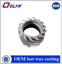 Customized quality lost wax casting steel water pump impelle