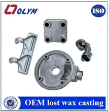 ISO stainless steel casting motorcycle casting parts