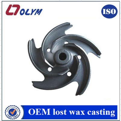 China investment casting supplier water impeller parts